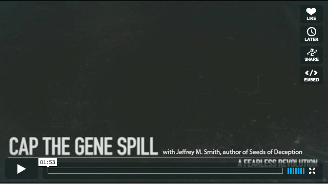 Cap the Gene Spill